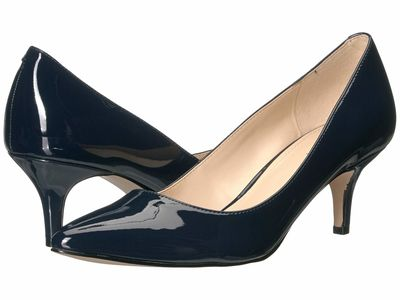 Nine West - Nine West Women French Navy Lowkey 3 Pumps