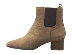 Nine West Women Green Multi Suede İnterrupt Chelsea Boots - Thumbnail
