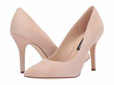 Nine West - Nine West Women Light Natural Flax Pump Pumps