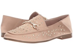 Nine West Women Light Natural Satin Westoy Loafer Loafers - Thumbnail
