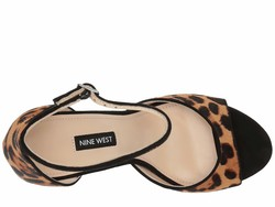 Nine West Women Natural Multi Gavyn Heeled Sandals - Thumbnail