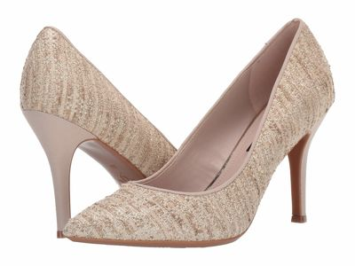 Nine West - Nine West Women Natural/Gold Fifth9X9 Pumps