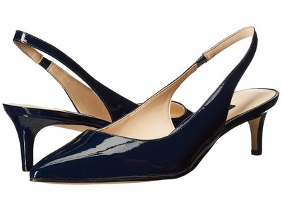 Nine West - Nine West Women Navy Feliks Pump Pumps