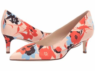 Nine West - Nine West Women Peach Multi Fina Pump Pumps