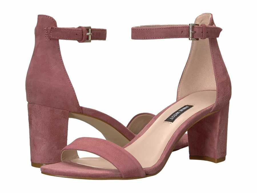 Nine West Women Peony Pruce Block Heel Sandal Heeled Sandals