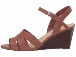 Nine West Women Rich Coffee Janie Heeled Sandals - Thumbnail