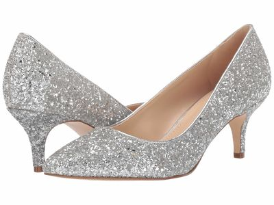 Nine West - Nine West Women Silver Lowkey 3 Pumps