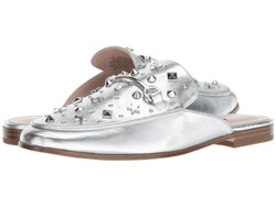 Nine West Women Silver Synthetic Welynne Loafers - Thumbnail