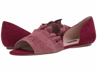 Nine West - Nine West Women Sweet Berry/Peony Babealert Flat Flats