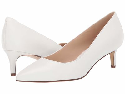 Nine West - Nine West Women White Fina 3 Pumps