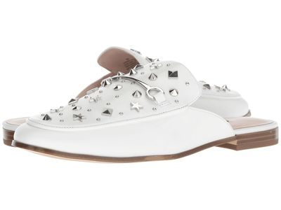 Nine West - Nine West Women White Leather Welynne Loafers