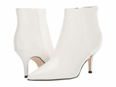 Nine West - Nine West Women White Patrice 3 Ankle Bootsbooties