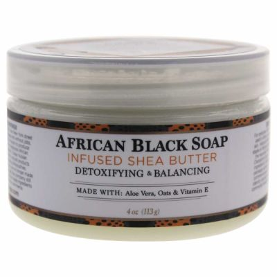 Nubian Heritage - Nubian Heritage Shea Butter Infused with African Black Soap Extract 4 oz