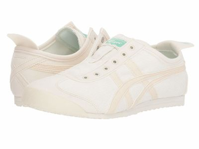 Onitsuka Tiger - Onitsuka Tiger Women Cream/Birch Mexico 66® Slip-On Lifestyle Sneakers
