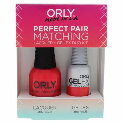 Orly - Orly Perfect Pair Lacquer & Gel FX Duo Kit 2 Pc Kit