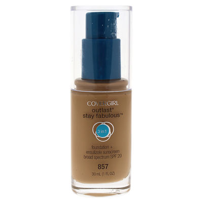 CoverGirl - Outlast Stay Fabulous 3-in-1 SPF 20 Foundation - # 857 Golden Tan 1oz