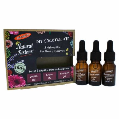 Palmers - Palmers Natural Fusions Shine and Hydration DIY Cocktail Kit 3 x 0.33 oz