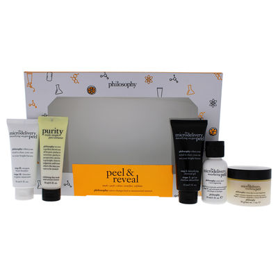 Philosophy - Peel and Reveal Kit 5Pc
