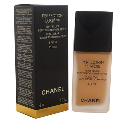 Chanel - Perfection Lumiere Long-Wear Flawless Fluid Makeup SPF 10 - # 25 Beige 1oz