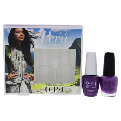 OPI - Peru GelColor and Lacquer Duo 2 x 0.5oz