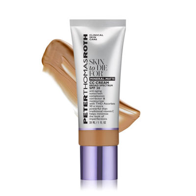 Peter Thomas Roth - Peter Thomas Roth Skin To Die For Mineral-Matte CC Cream SPF 30 - Tan 1 oz