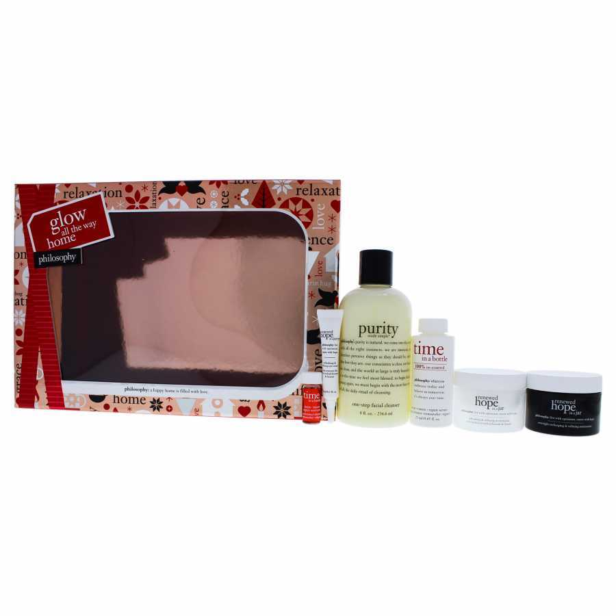 Philosophy Glow All The Way Home Kit 6 Pc