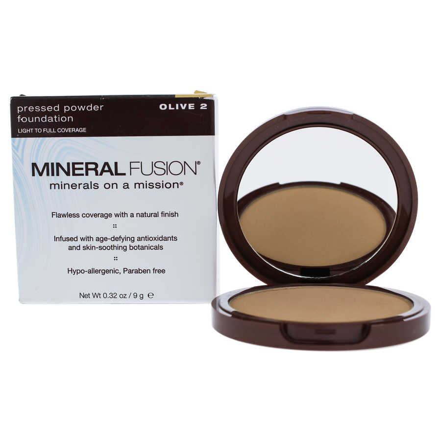 Pressed Powder Foundation - 02 Olive 0,32oz