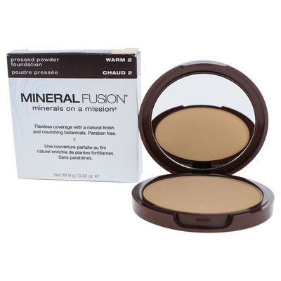 Mineral Fusion - Pressed Powder Foundation - 02 Warm 0,32oz
