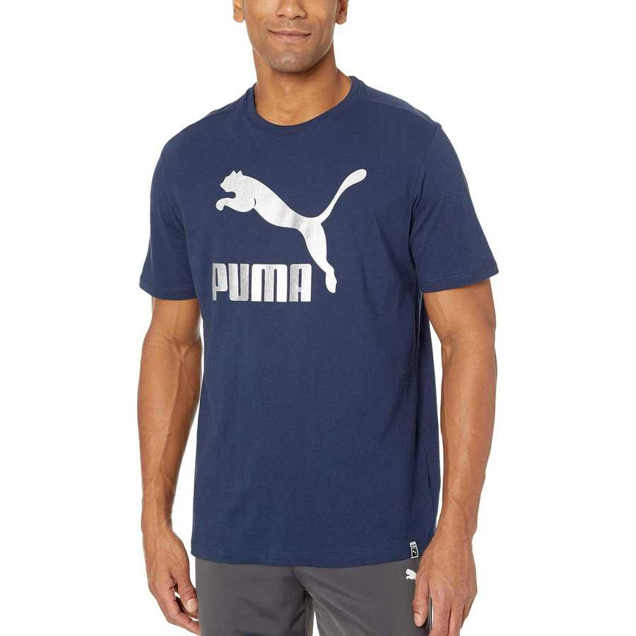 Puma Garden Green Rebel Block T-Shirt