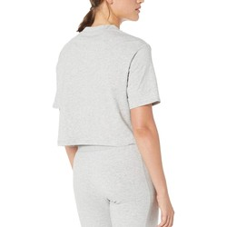 Puma Light Grey Heather Amplified Cropped Tee - Thumbnail