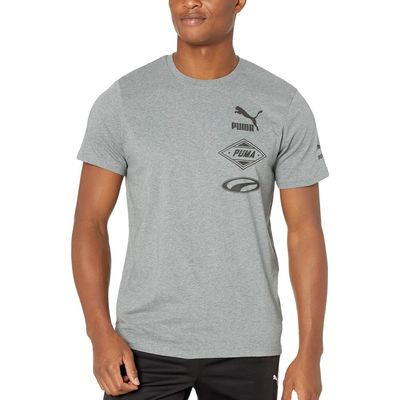 Puma - Puma Medium Gray Heather Luxtg Tee