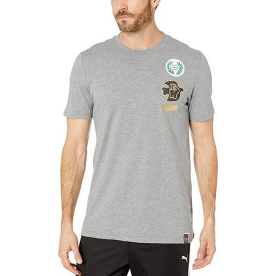 Puma - Puma Medium Gray Heather Power Through Peace 307 Tee
