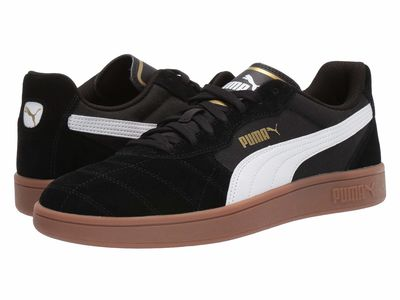 Puma - Puma Men Puma Black/Puma White/Puma Team Gold Astro Kick Lifestyle Sneakers