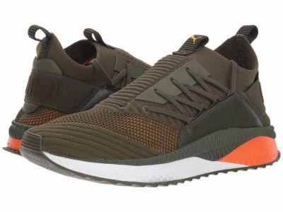 Puma - PUMA Men's Forest Night Firecracker Spectra Yellow Tsugi Jun Colorshift Lifestyle Sneakers