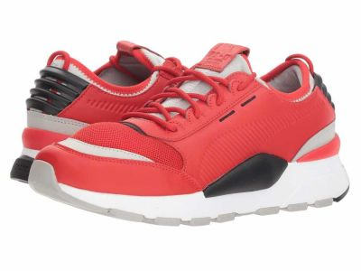 Puma - PUMA Men's High Risk Red Gray Violet Puma Black Rs-0 Sound Running Shoes