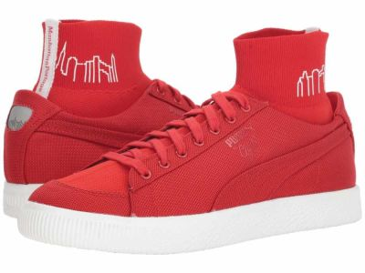 Puma - PUMA Men's High Risk Red High Risk Red Clyde Sock Manhattan Portage Lifestyle Sneakers