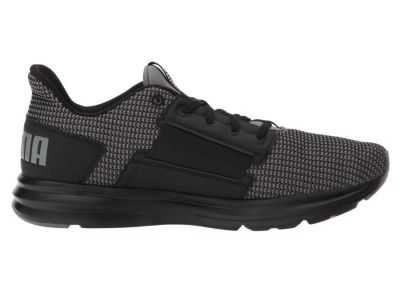 Puma - PUMA Men's Quiet Shade/Black Enzo Street Knit Sneakers Athletic Shoes 9006800508485