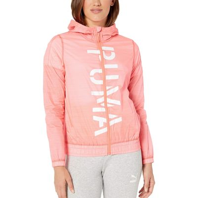 Puma - Puma Pink Alert Be Bold Graphic Woven Jacket