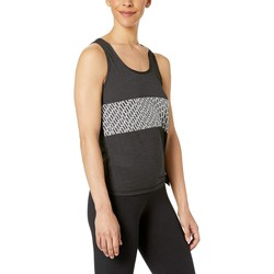 Puma Puma Black Heather Bold Logo Tank - Thumbnail