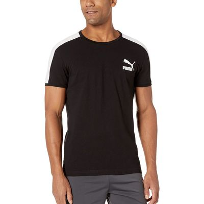 Puma - Puma Puma Black Iconic T7 Tee Slim Fit