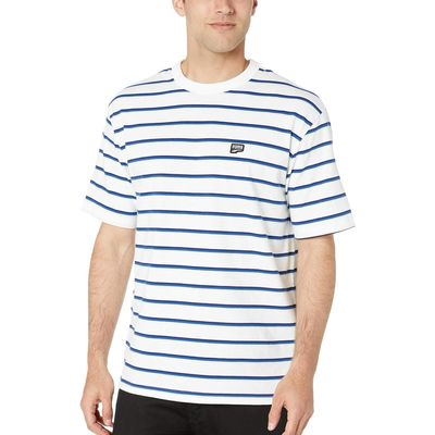 Puma - Puma Puma White Downtown Stripe Tee