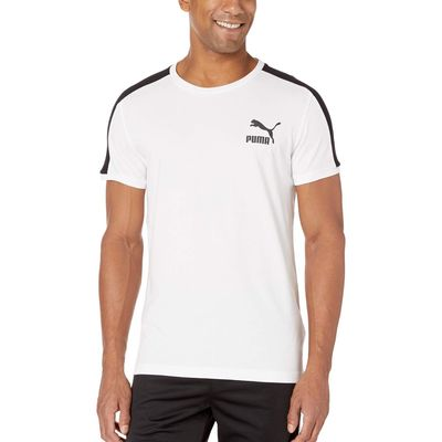 Puma Puma White Iconic T7 Tee Slim Fit