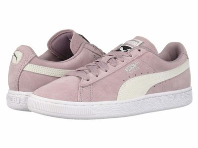 Puma - Puma Women Elderberry/Puma White Suede Classic Wn'S Lifestyle Sneakers