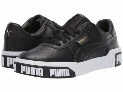 Puma - Puma Women Puma Black/Metallic Gold Cali Bold Lifestyle Sneakers