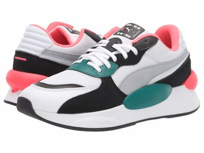 Puma - Puma Women Puma White/Teal Green Rs 9.8 Space Lifestyle Sneakers