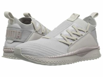 Puma - PUMA Women's Gray Violet Metallic Beige Tsugi Jun Metallic Lifestyle Sneakers