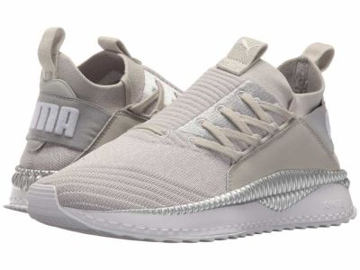 Puma - PUMA Women's Gray Violet Puma White Silver Tsugi Jun Lifestyle Sneakers