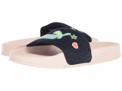 Puma - PUMA Women's Peacoat Pearl Leadcat Denim Flat Sandals