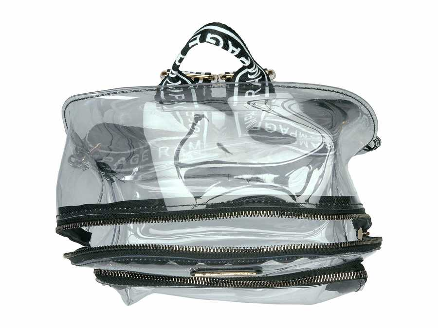 Rampage Black Clear Backpack
