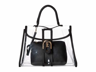 Rampage - Rampage Black Clear Satchel Handbag